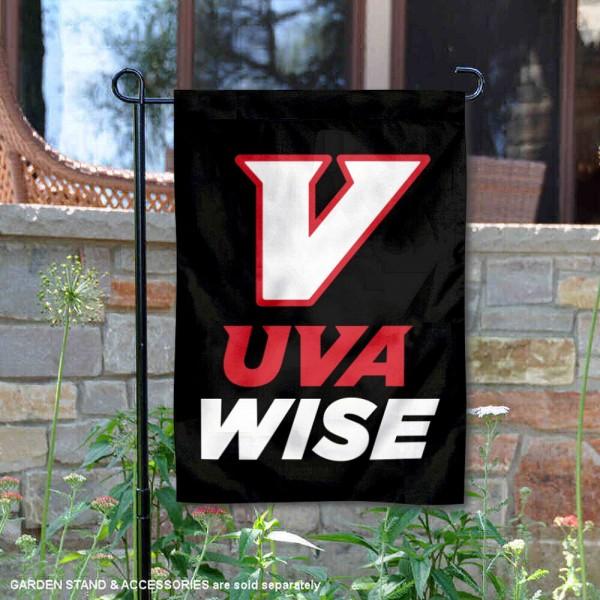 UVA-Wise Cavaliers Logo Double Sided Garden Flag