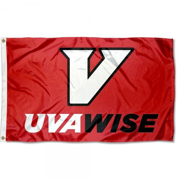 UVA-Wise Cavaliers New Logo Flag