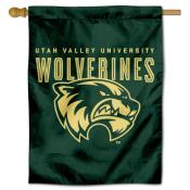 UVU Wolverines House Flag