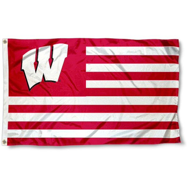 UW Badger Nation Flag