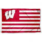 UW Badger Nation Flag