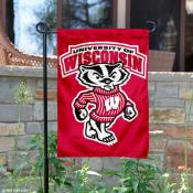 UW Badgers Bucky Garden Flag