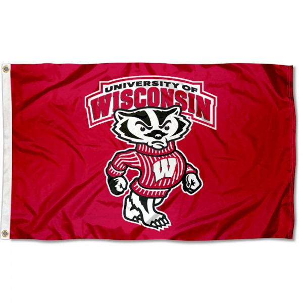 UW Badgers Flag