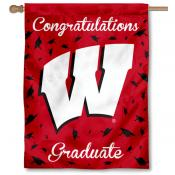 UW Badgers Graduation Banner
