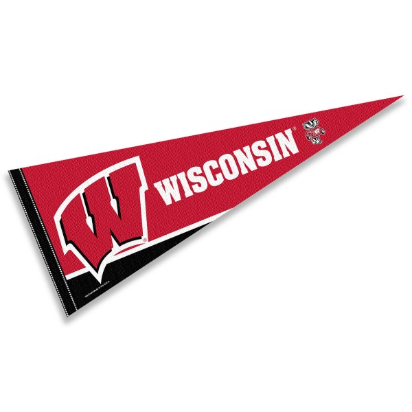 UW Badgers Motion W Pennant