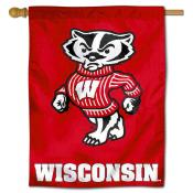 UW Badgers Polyester House Flag