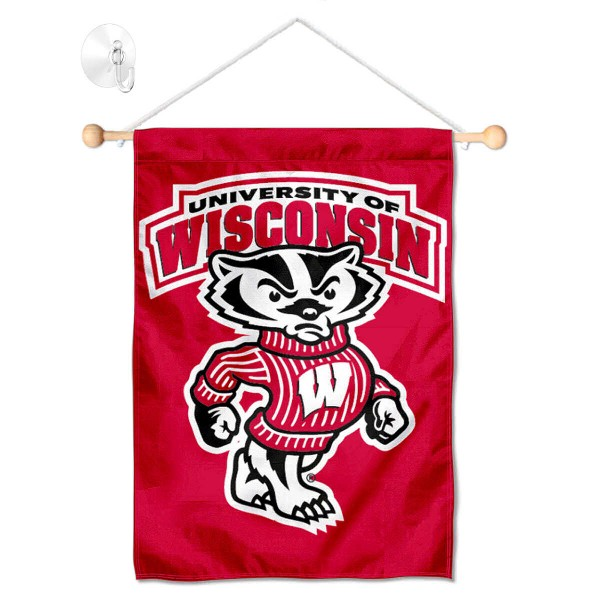 UW Badgers Small Wall and Window Banner