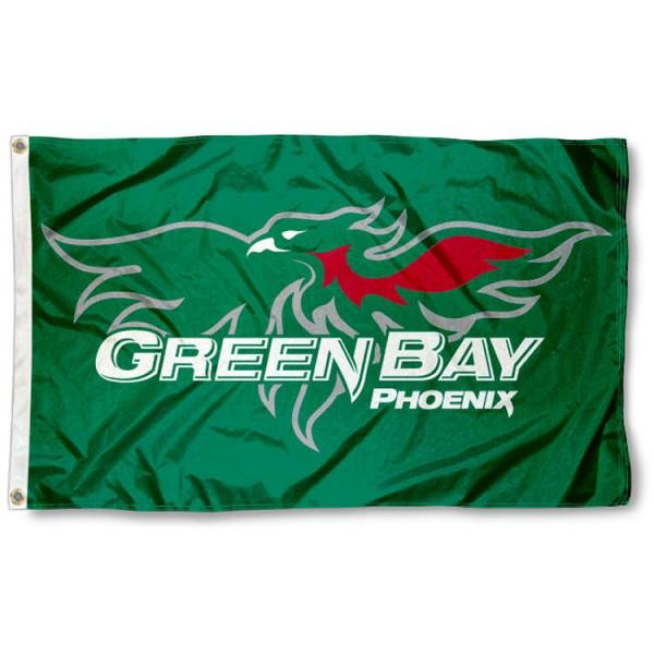 UW Green Bay Phoenix 3x5 Foot Flag