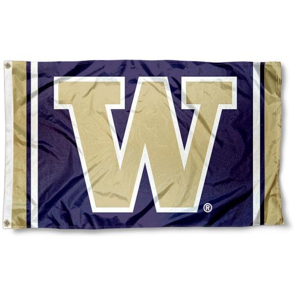 UW Huskies Flag