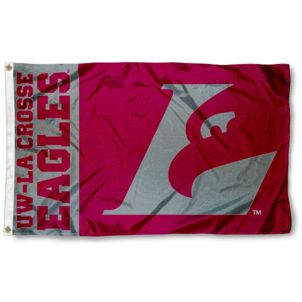 UW LaCrosse Eagles Flag