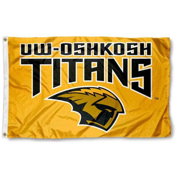 UW Oshkosh Titans Flag