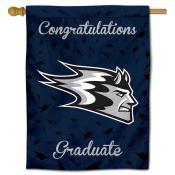 UW Stout Blue Devils Graduation Banner