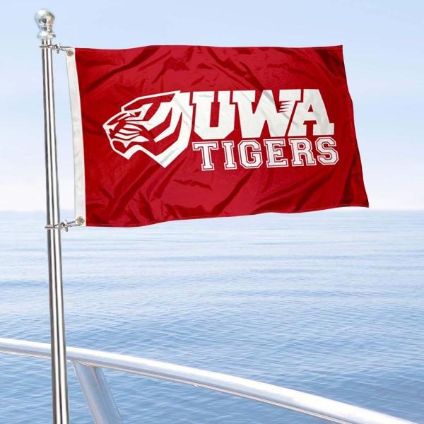 UWA Tigers Boat Nautical Flag