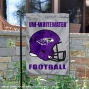 UWW Warhawks Football Garden Flag
