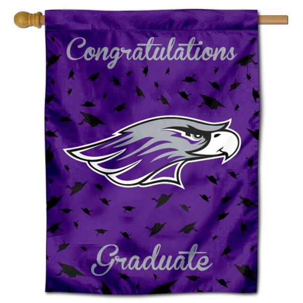 UWW Warhawks Graduation Banner
