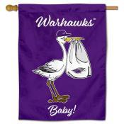 UWW Warhawks New Baby Banner