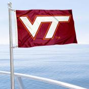 VA Tech Hokies Boat Nautical Flag