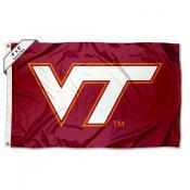 VA Tech Hokies Logo 4'x6' Flag