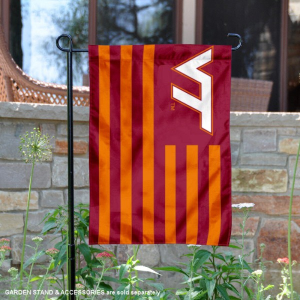 VA Tech Hokies Nation Garden Banner
