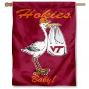 VA Tech Hokies New Baby Banner