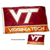 VA Tech Hokies Two Sided 3x5 Foot Flag