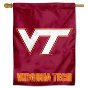 VA Tech VT Logo House Flag