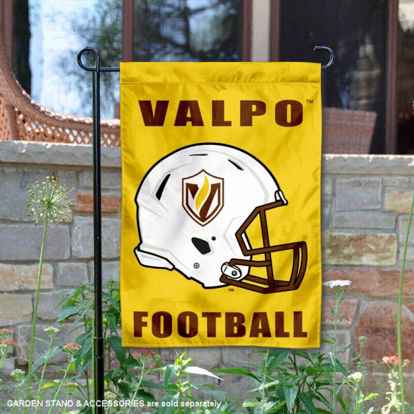 Valpo Crusaders Football Garden Flag