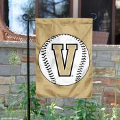 Vanderbilt Baseball Garden Flag