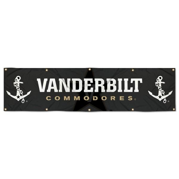 Vanderbilt Commodores 2x8 Banner