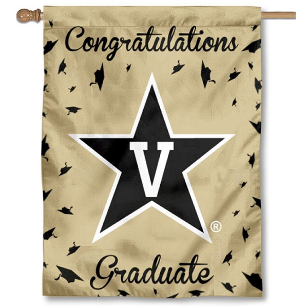 Vanderbilt Commodores Graduation Banner