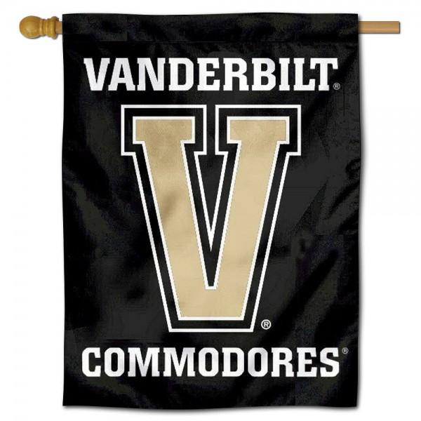 Vanderbilt Commodores House Flag