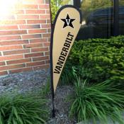 Vanderbilt Commodores Mini Teardrop Garden Flag