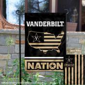 Vanderbilt Commodores Nation Garden Flag