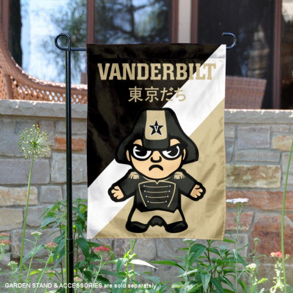 Vanderbilt Commodores Yuru Chara Tokyo Dachi Garden Flag