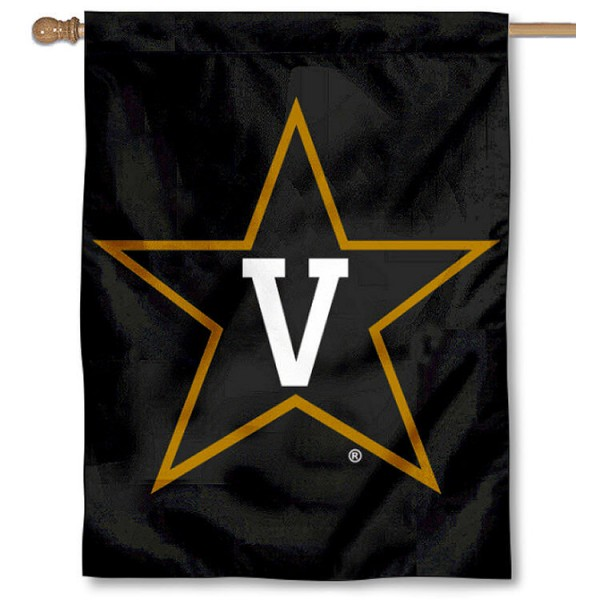 Vanderbilt House Flag - Black