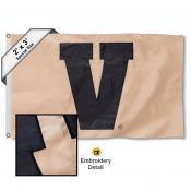 Vanderbilt V 2x3 Flag
