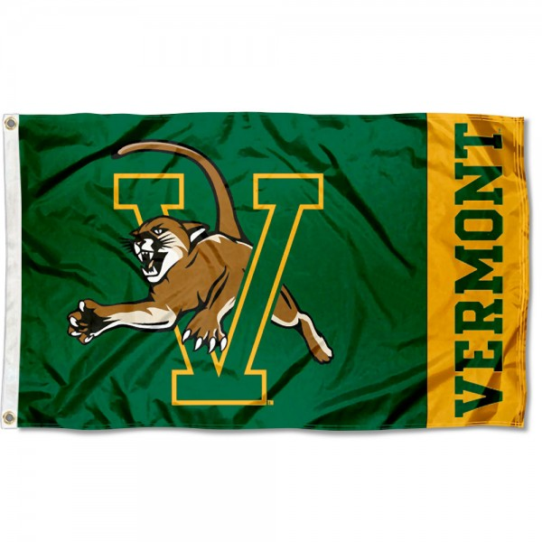 Vermont Catamounts 3x5 Foot Flag
