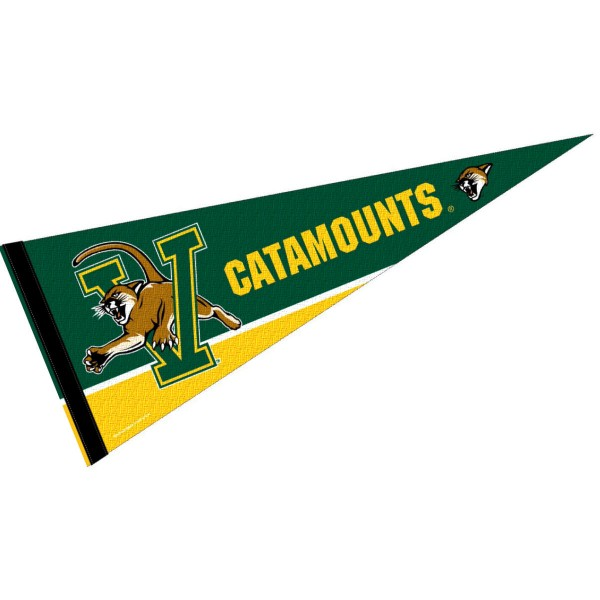 Vermont Catamounts Pennant
