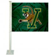 Vermont UVM Catamounts Car Flag
