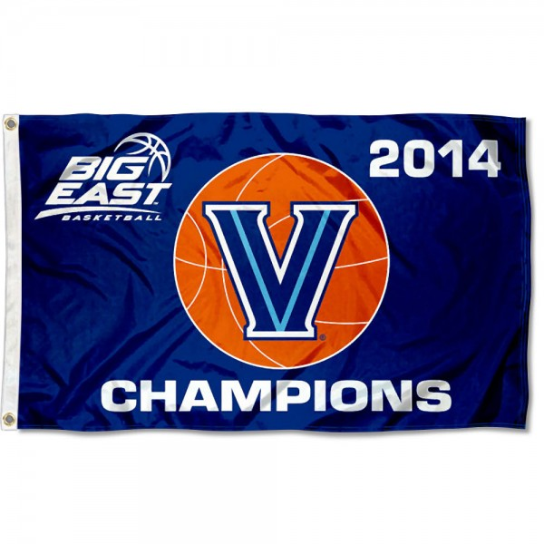 Villanova 2014 Big East Champs Flag