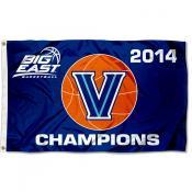 Villanova 2014 Big East Champs Flag