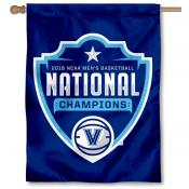 Villanova Basketball 2018 National Champions House Flag