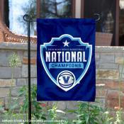Villanova National Champs On the Court Logo Garden Banner