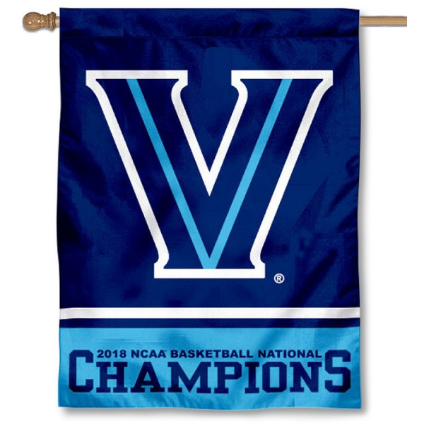 Villanova Wildcats 2018 Men's Basketball Champions House Flag