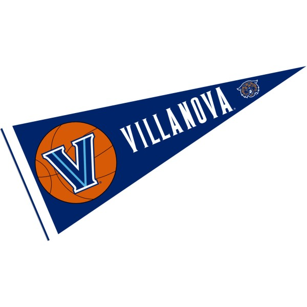 Villanova Wildcats Basketball Pennant