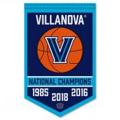 Villanova Wildcats College Basketball National Champions Banner
