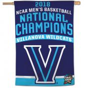 Villanova Wildcats College Basketball National Champs House Banner