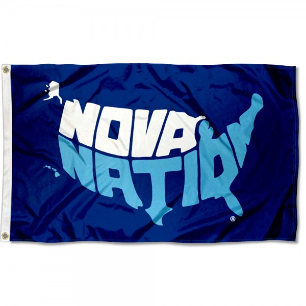 Villanova Wildcats Nova Nation 3x5 Foot Flag