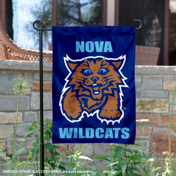 Villanova Wildcats Nova Nation Garden Flag