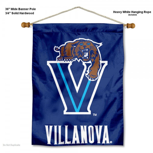 Villanova Wildcats Wall Hanging